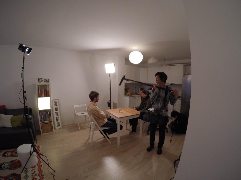 Između ostalog snimili su i interview, a kojim nisam baš zadovoljan. Misli su mi lutale, previše sam improvizirao i brljavio. No, što je tu je :)