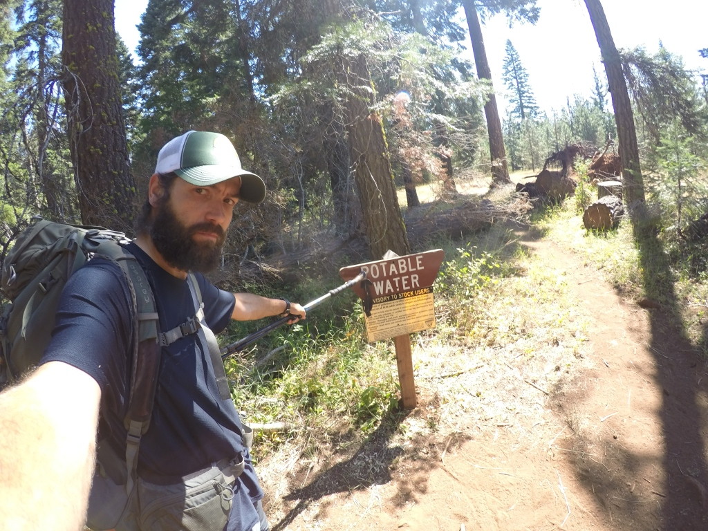 Pitka voda usred šume. To znači da ne treba filtrirati, što je velika radost za thru hikera :)