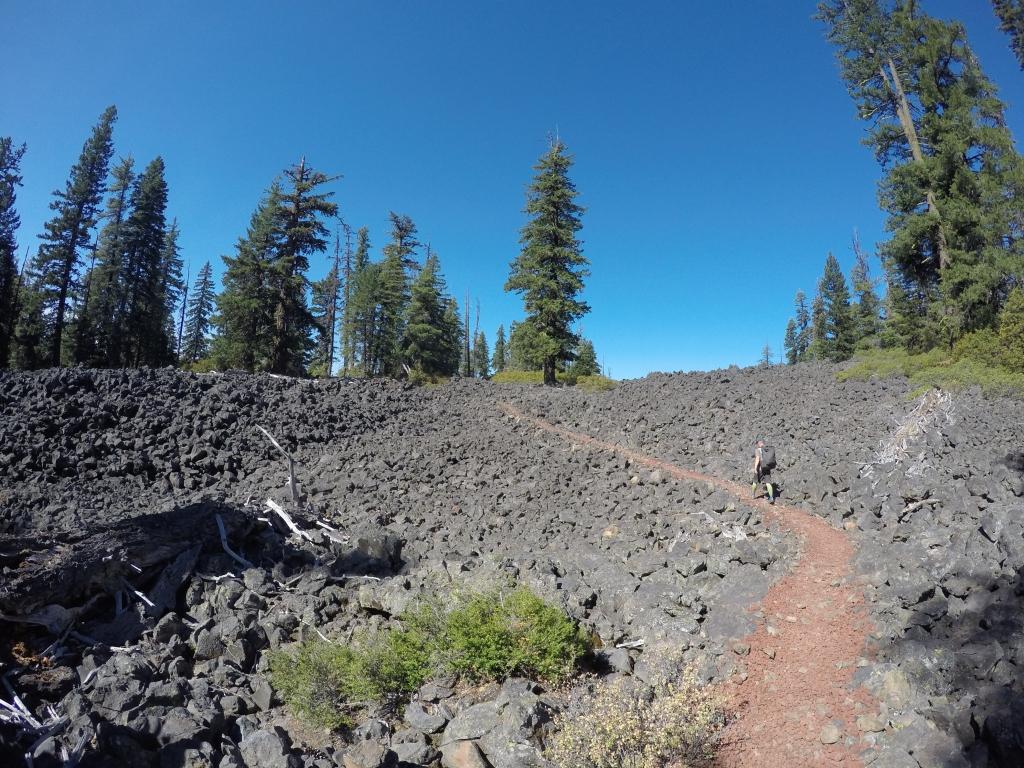 Uslijedila su polja lave (lava fields)