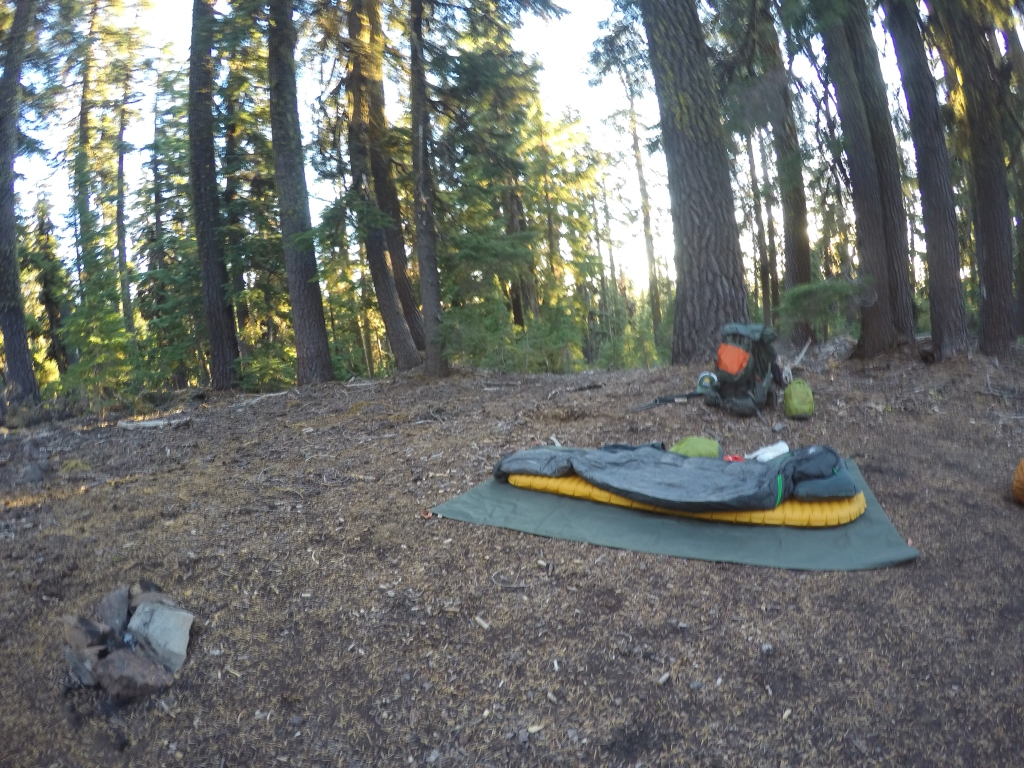 Cowboy camping usred šume...