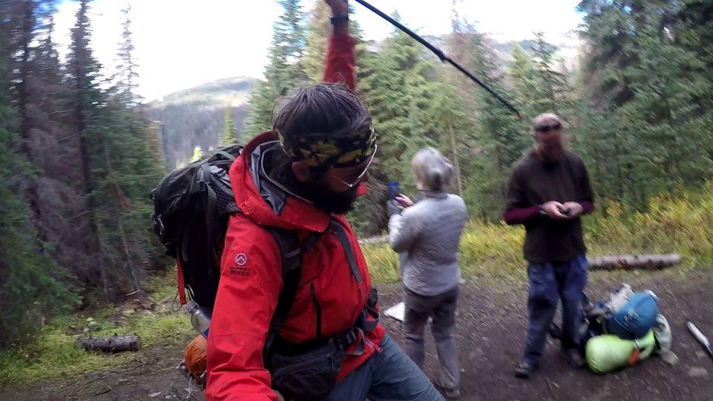 Zadnji preživjeli štap za hodanje je poslužio kao koplje koje sam zabio u zemlju s prvim korakom u Kanadi!