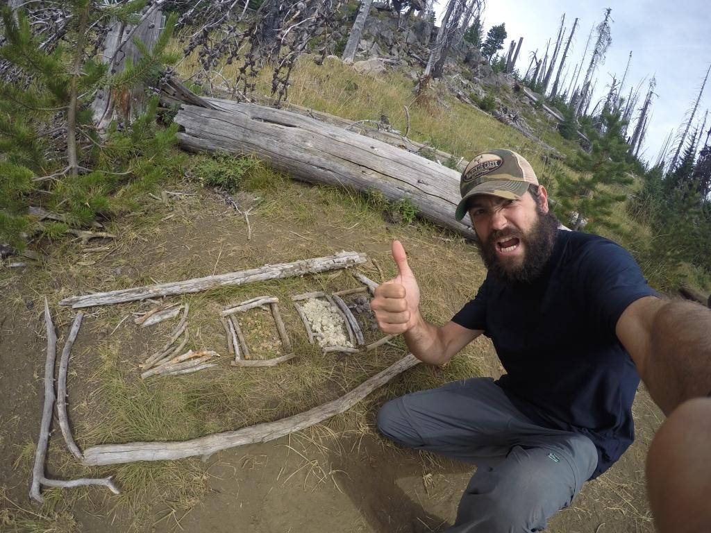Jedan od najvećih mile markera nalazio se uslijed spaljene šume, na prilično neatraktivnom mjestu, no vidjeti ga je bilo zadovoljstvo.