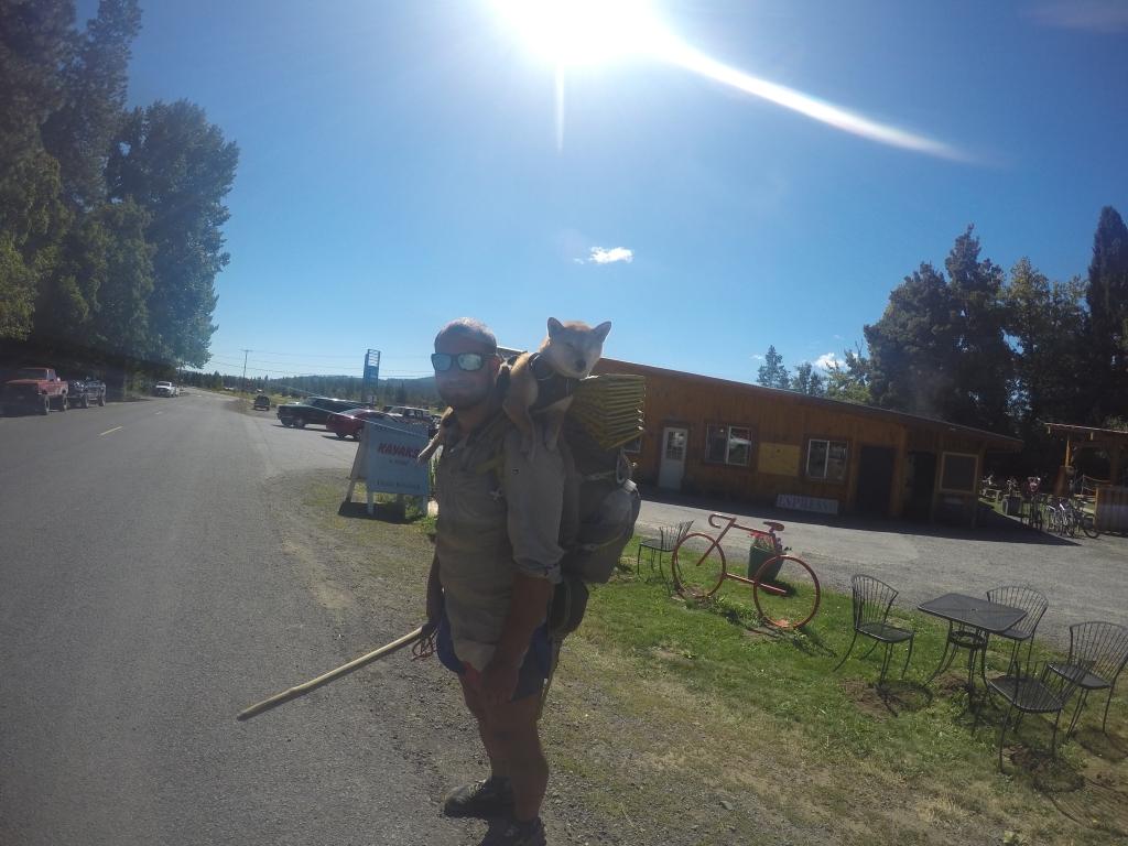 Mayor i njegova Shiba Inu kujica.