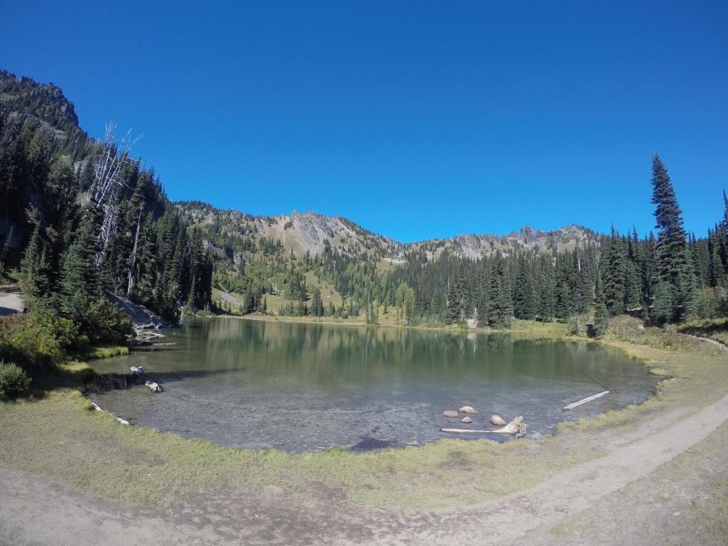 Na ovom sam jezeru stao oprati se...isplahnuti, bolje rečeno.