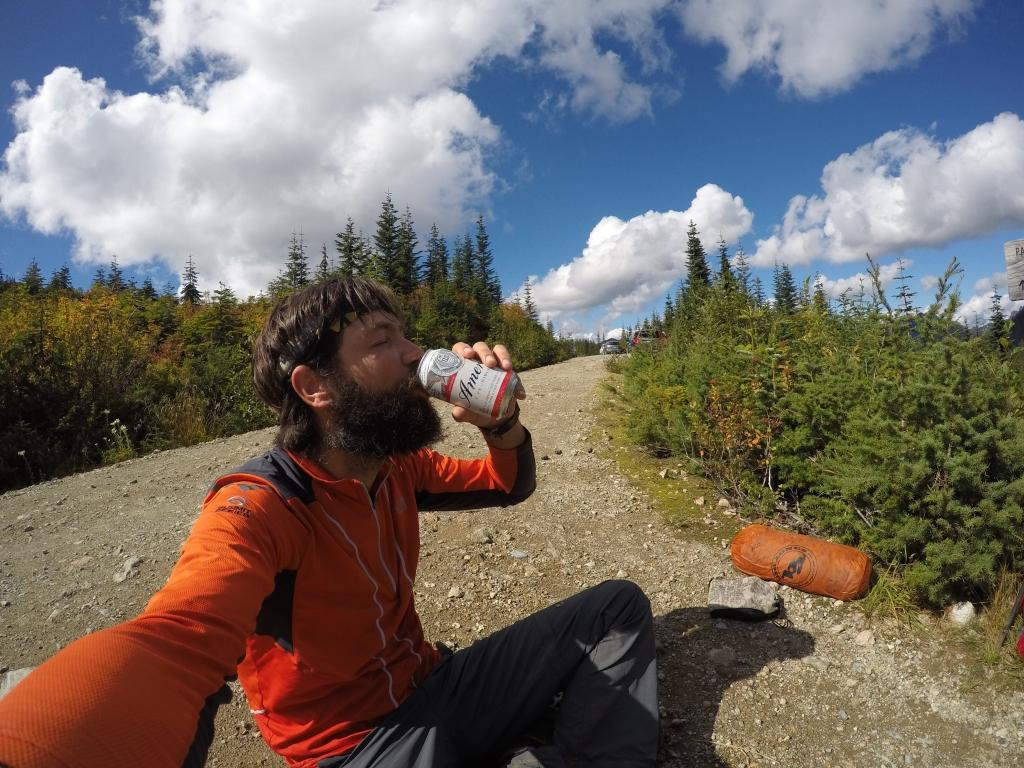 Stumbling Norwegian mi je prije nego sam krenuo ubacio limenku piva u ruksak :)