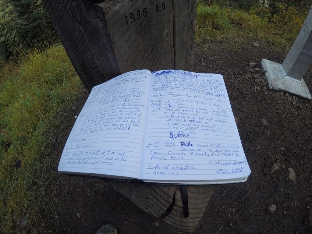Upisivanje u posljednji trail register za povijest!